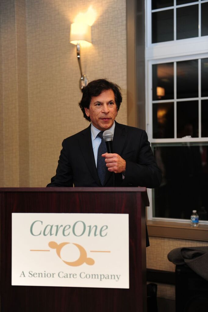 Daniel Straus CareOne CEO CareOne at Livingston Assisted Living Grand Opening